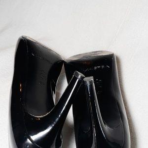 Via Spiga Shoes - Via Spiga Frankie Patent Peep Toe Pumps 9.5